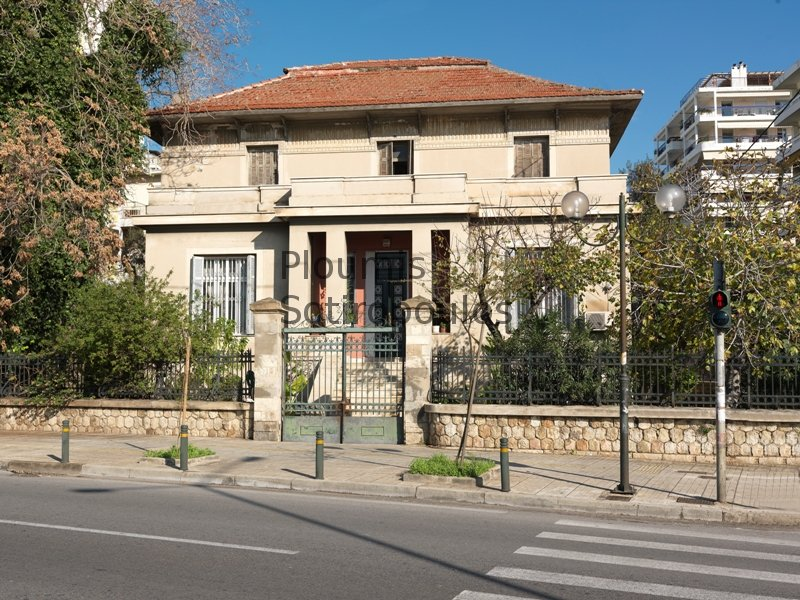 Rare Neoclassical Building on the Coast in Palaio Faliro