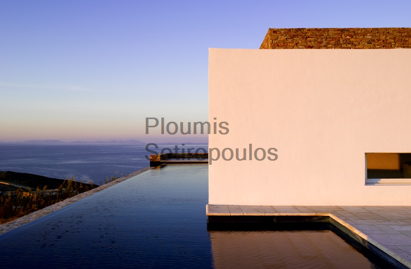 Architectural jewel in Antiparos