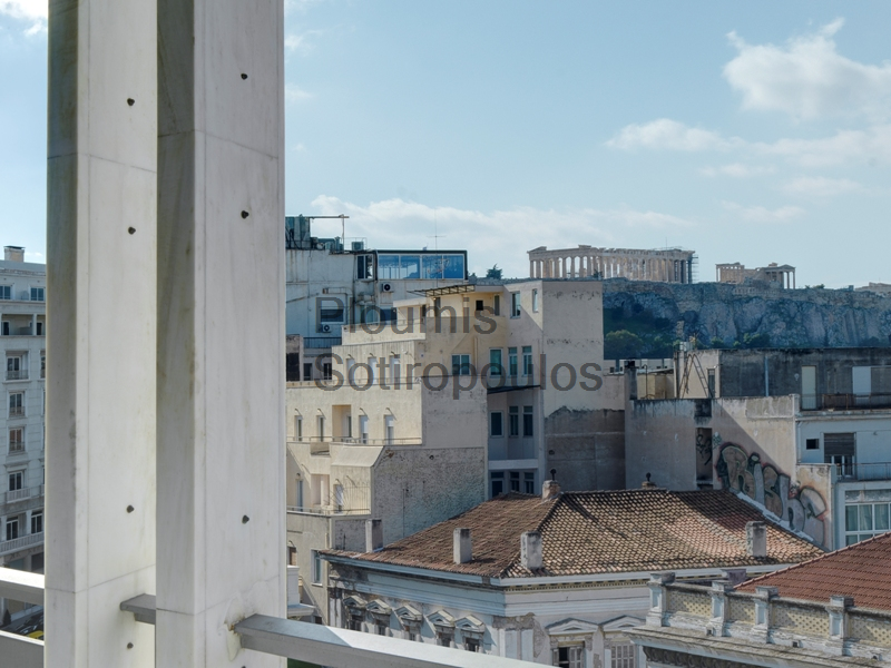 Office on Stadiou street with view to the Acropolis, Syntagma