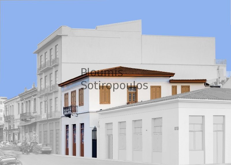 Neoclassical Building on Ermou Street, Thissio
