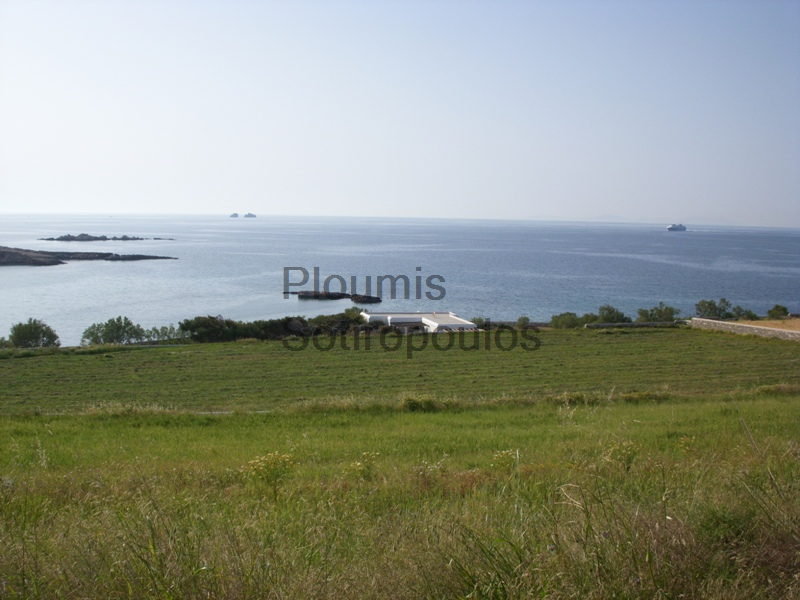 Seafront Plot of Land in Paros