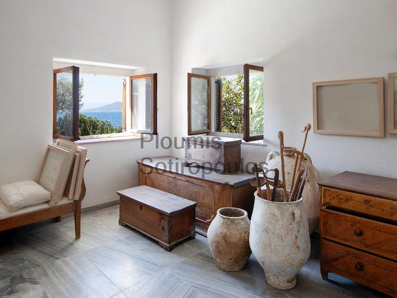 The Residence of an Artist in Aegina Greece for Sale