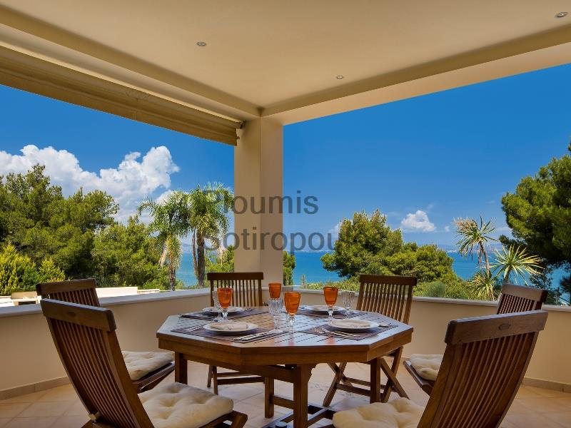 Seafront Villa in Attica Greece for Sale