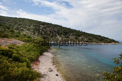 Kefalonia, Seafront Plot of Land near Fiscardo