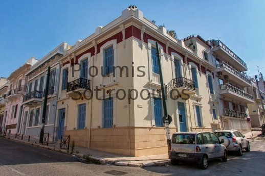 Neoclassical Building in Piraeus