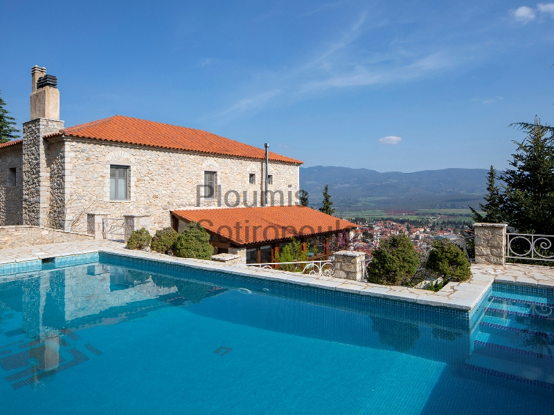 Two Traditional Boutique Hotels in Mount Parnassus