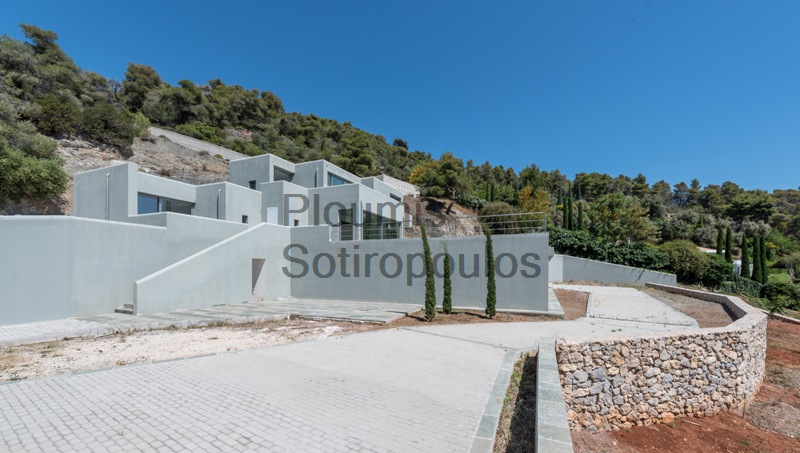Contemporary Home Above Ancient Epidaurus