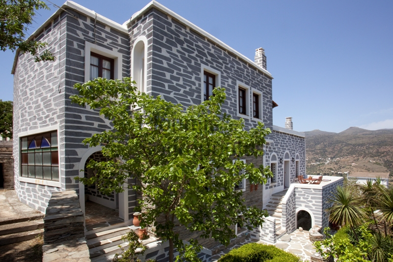 Traditional Residence in Korthi, Andros