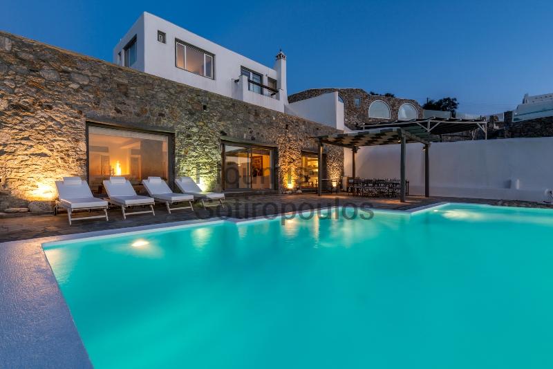 Beachfront Luxury in Mykonos, Greece