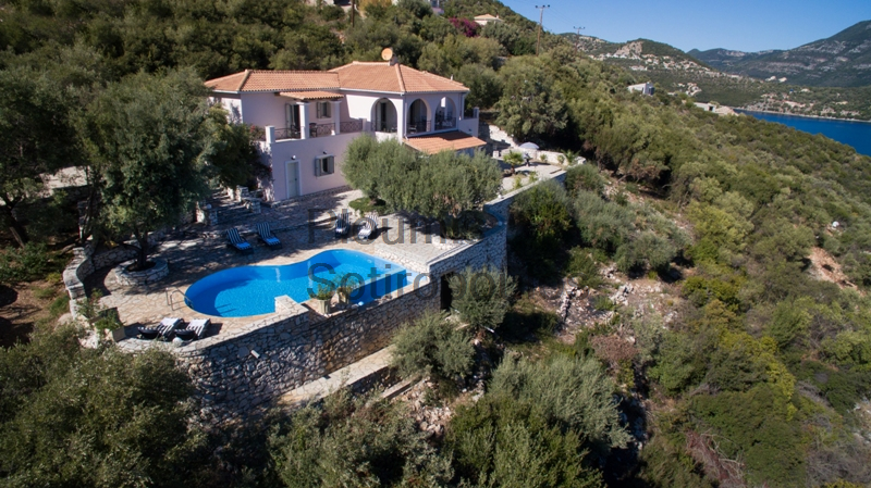 Seaview Villa in Lefkada