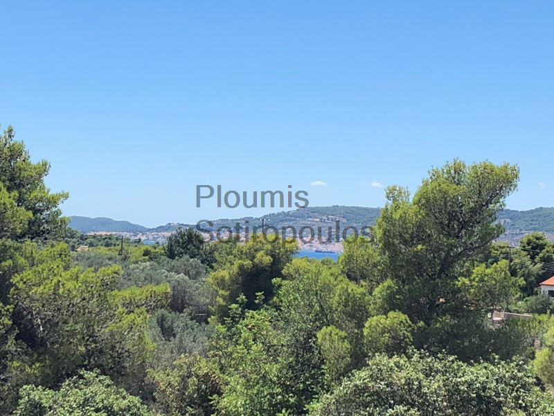 A Plot of Land with Permit to Build in Porto Heli