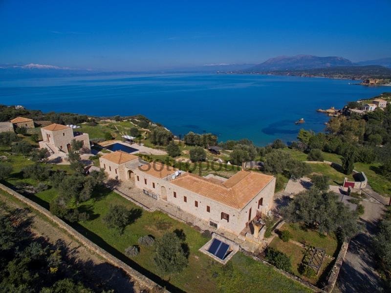 Παραθαλάσσια Βίλα Νότια Πελοπόννησος Ελλάδα προς Πώληση