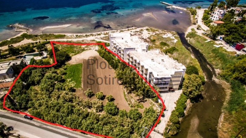 Seafront Plot of Land in Aegina
