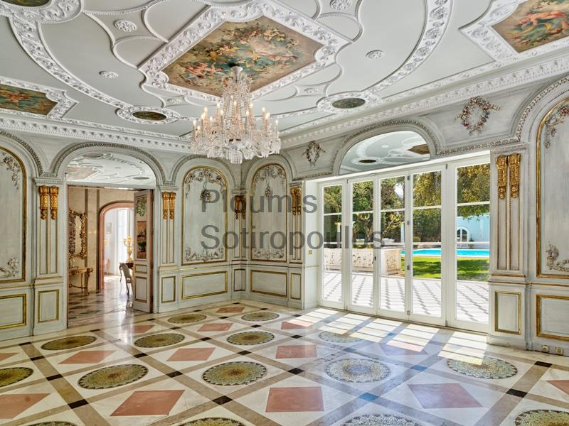 Aristrocratic Mansion in Palaio Psychico Greece for Sale