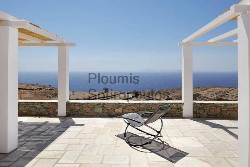 Amphitheatrical Villa in Folegandros Greece for Sale