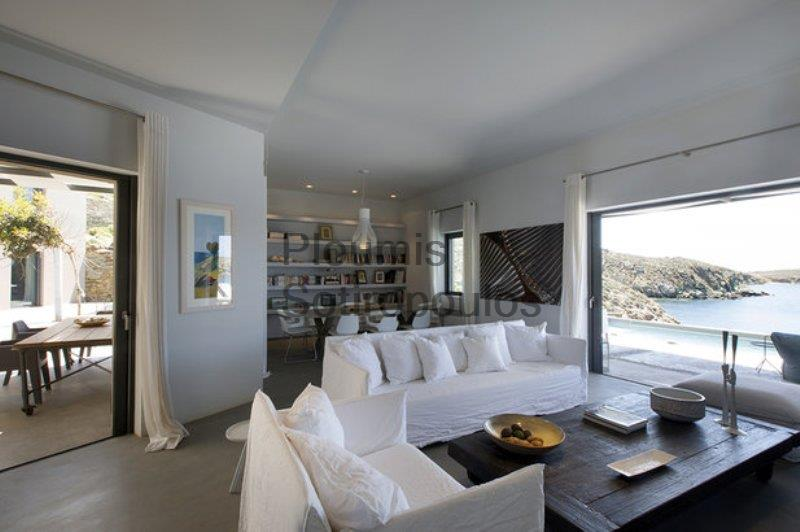 Beachfront Haven in Andros Greece for Sale