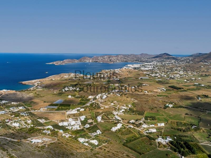 Plot of land with permit in Paros Greece for Sale