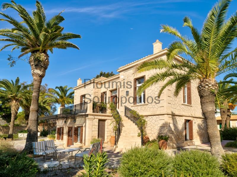 Historical Seafront Villa, Aegina Greece for Sale