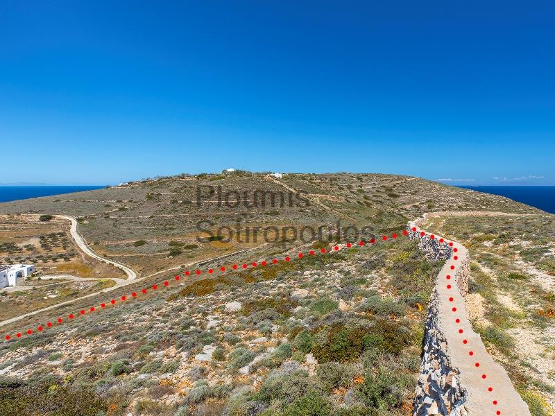 Plot of Land with views in Paroikia, Paros Greece for Sale