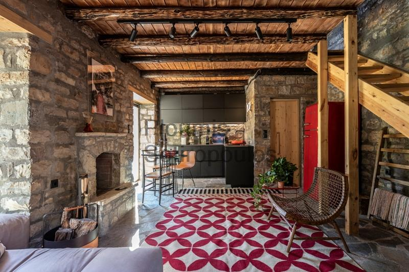 Stone Cottage in Evritania, Central Greece Greece for Sale