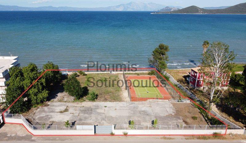 Beachfront Plot of Land with permit in Livanates,Fthiotida Greece for Sale