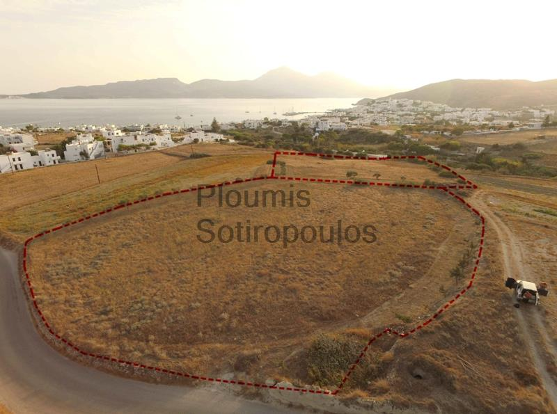Hotel and Residential Development Site in Milos, Cyclades  Greece for Sale